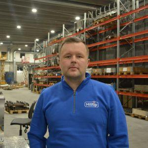 Daniel Vähäkangas har varit med och byggt upp en fabrik för snabbmat i Iran