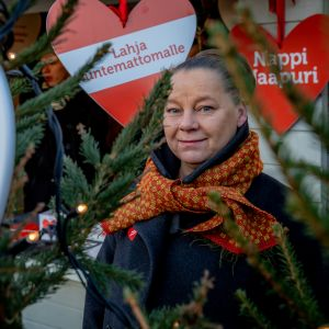 Tanja Jänicke Tuomaan markkinoilla