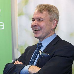 De Grönas Pekka Haavisto