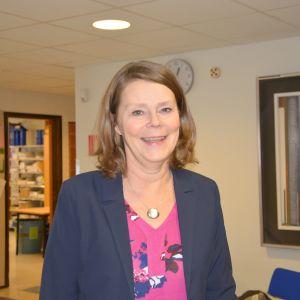 Anita Sundman (SFP) är Kommunstyrelsens första vice ordförande i Korsholm.