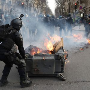 Demonstration i Paris 9.2.2019