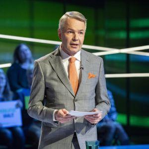 Pekka Haavisto puoluejohtajien vaalitentissä 21.03.2019 Yle Studio 2 eduskuntavaalit  2019.