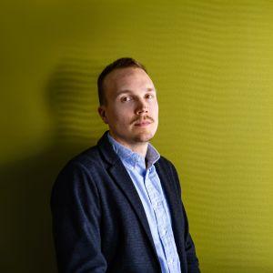 Journalisti Olli Seuri.