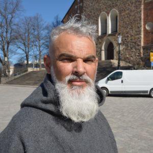 Duarte Nuno Antunes, pilgrimsvandrare från Portugal.
