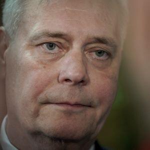 Antti Rinne Säätytalossa