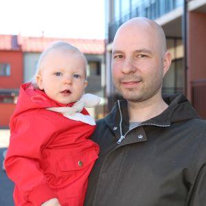 Isä Mikko Sepänmaa ja Hertta-tytär