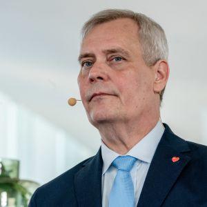 Antti Rinne hallitusinfossa