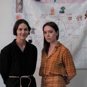 Eevi Rutanen och Helen Korpak.