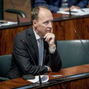 Kansanedustaja Jussi Halla-Aho ,PS, täysistunnossa 11.9.2019