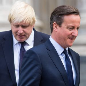 David Cameron och Boris Johnson