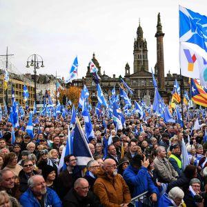 Marsch i Glasgow 2.11.2019