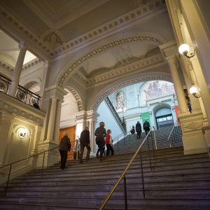 Ateneumin taidemuseon portaikko