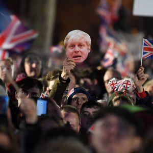 Brexikvällen i London 31.1.2020