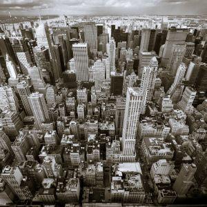 Manhattan, maisema nähtynä Empire State Buildingista käsin