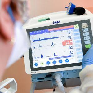 Apparatur som används inom intensivvården.