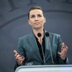 Tanskan pääministeri Mette Frederiksen
