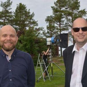 Jaska Pensaari och Jonne Sandberg.