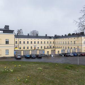 Lapinlahden sairaalan päärakennus.