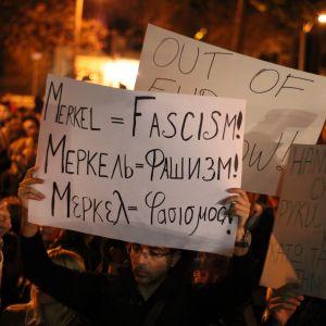 Demonstration i Grekland