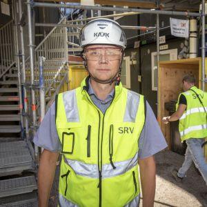 SRV:n toimitusjohtaja Juha Toimela.