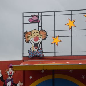 Clownen i Sirkus Finlandias logo