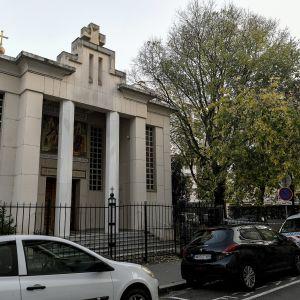 Lyonin ampuminen sattui ortodoksikirkon edustalla 31. lokakuuta 2020.