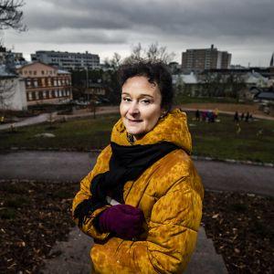 porträttbild på Birgitta Wahlberg