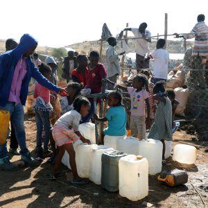 Många har flytt från Etiopien till grannlandet Sudan. 28.11.2020