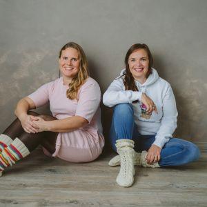 Patricia Thesleff och Anna Kolster-Weckström