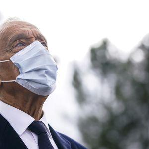 Portugalin presidentti Marcelo Rebelo De Sousa on valittu jatkamaan toiselle kaudelle