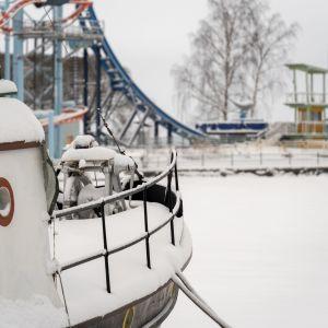 Mustanlahden satama Tampereella.