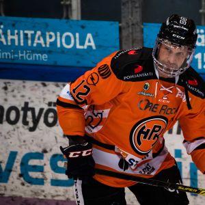 HPK:n Markus Kankaanperä Jukureita vastaan helmikuussa 2021.