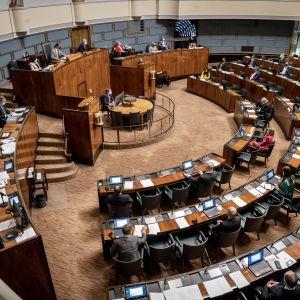 Eduskunnan kyselytunti 18.2.2021