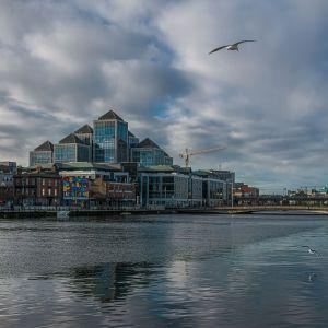 Kontorslokaler i Dublins Docklands.