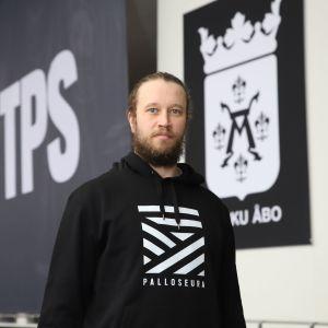 TPS:n Karri Rämö kuvattuna Turkuhallissa 5. toukokuuta 2021.