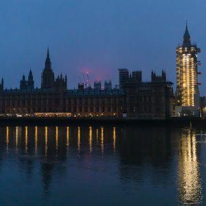 Lontoo, Iso-Britannia 1.1.2021