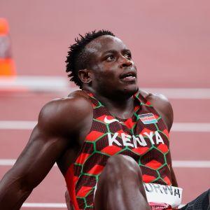 Ferdinand Omanyala jäi niukasti  olympiafinaalin ulkopuolelle.