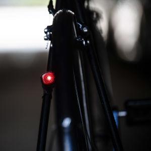 Kuvassa on polkupyörän takavalo syyskuussa 2020.