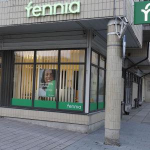Vakuutusyhtiö Fennian toimisto Lappeenrannassa.