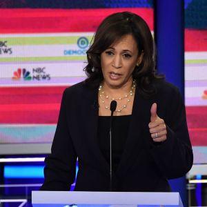 Kamala Harris, presidentkandidat i USA