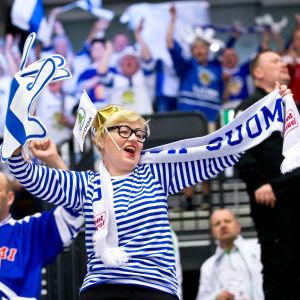 Finska fans, ishockey-VM 2018.