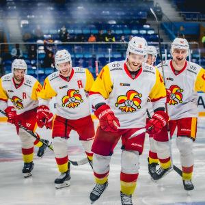Jokerit voitti Kunlun Red Starin Moskovassa 9.9.2021