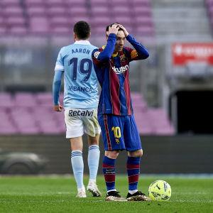Lionel Messi kuvattuna 16.5.2021