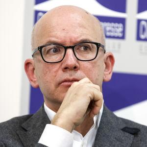 Internationella Röda Korset generaldirektör Yves Daccord