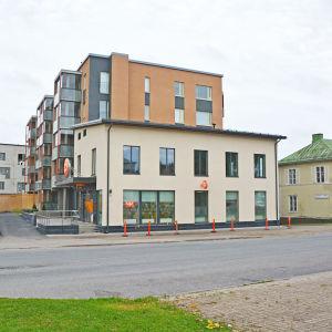 Nybygge vid Stora byvägen i Nickby