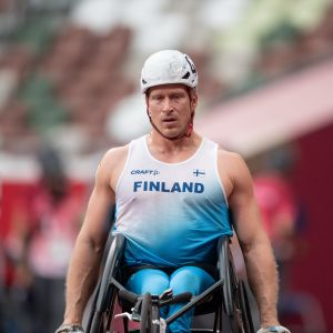 Leo-Pekka Tähti var snabbast i kvalet, men tvåa i finalen.