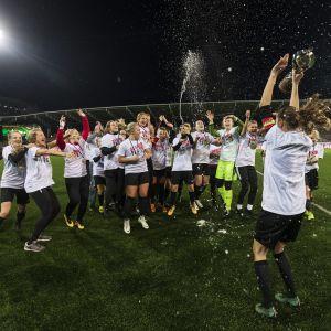 PK-35 blev mästare säsongen 2018.