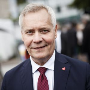 Antti Rinne i Björneborg.