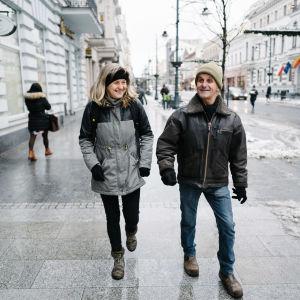 Magdalena Osuchovska ja Clint Newton