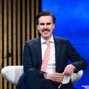 Kansanedustaja Matias Mäkynen, SDP.